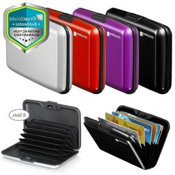 RFID Card Holder Aluminum Anti Theft Business ID Credit Card