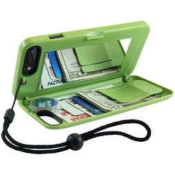 EYN Products Wallet Case for Apple iPhone 7 Plus - Greenery
