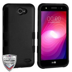 For LG Fiesta X Power 2 X Charge Protective Leather Flip Wal