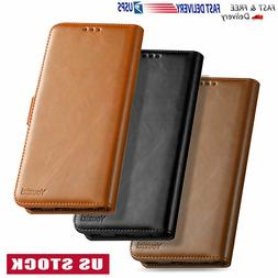 For LG Stylo 3 4 5 Plus Leather Wallet Flip Protective Case