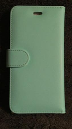 Gear Beast-iPhone 6/6S Plus -Wallet Case, Flip Cover-Mint Gr