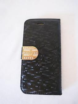 Magnetic Flip Wallet Silk Leather Stand Flip case cover for