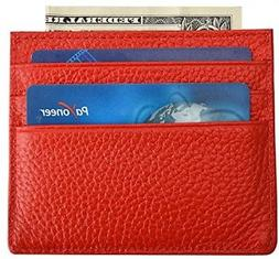 MaxGear Slim Leather Wallet Credit Card Case Sleeve Card Hol