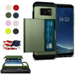 Shockproof Wallet Case For Samsung Galaxy S6 Luxury Card Slo
