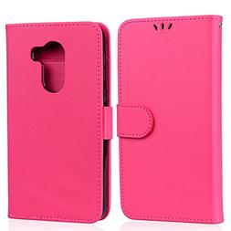 Alcatel A30 Case, Abtory PU Leather  Wallet Case with ID&Car