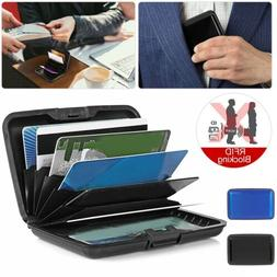 Aluminum Metal Wallet Business ID Credit Card Case Holder An
