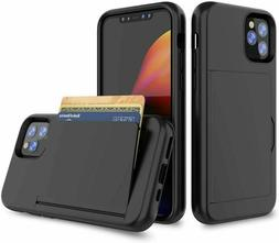 For Apple iPhone X XS MAX XR Wallet Case Credit Card Slim Ho