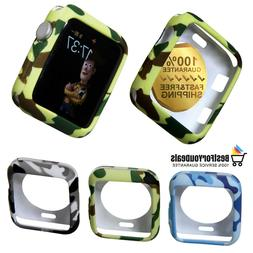 Apple Watch Series 1 2 3 Soft TPU Protector Case Cover Shell