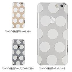 ESR Beat Series Hard Phone Case, Clear Polka Dots
