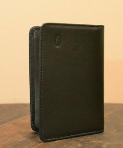 Hartmann Black Leather Card Case Wallet NEW OLD STOCK