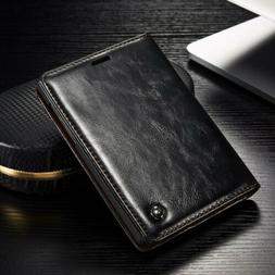 For BlackBerry Passport 2 Leather Wallet Case Magnetic Flip