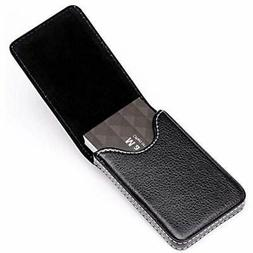MaxGear Business Card Holder Premium PU Leather Case Wallet