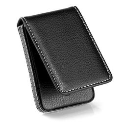 MaxGear Business Card Holder Premium PU Leather Business Car