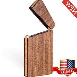 business card holder wood business card case