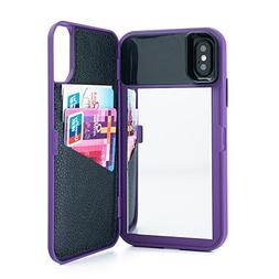 W7ETBEN Case for iPhone X/XS,Dual Layer Shockproof PC+TPU Mi