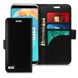 FYY Case for Genuine Leather Galaxy S8/Samsung Galaxy S8 Han