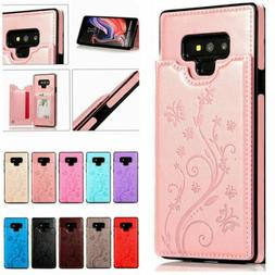 Case Cover For Samsung Galaxy Note10+ Note9/8 Magnetic Leath