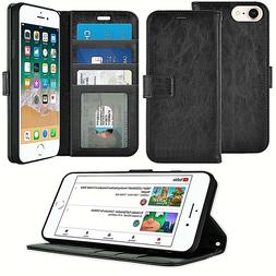 Case For Apple iPhone 6s 7 Plus Luxury Leather Wallet Flip S