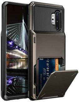 Vofolen Case for Galaxy Note 10 Wallet 4-Slot Pocket Credit