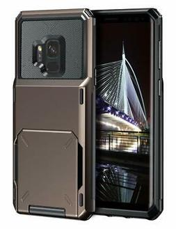 Vofolen Case for Galaxy S9 Case Wallet ID Slot Cre Samsung G
