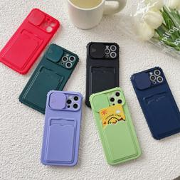 Case For iPhone 12 11 Pro Max XS X XR 8 7 6s Plus SE 2 Card