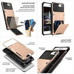 Vofolen Case for iPhone 6s 6 7 8 SE2 Case Wallet Credit Card