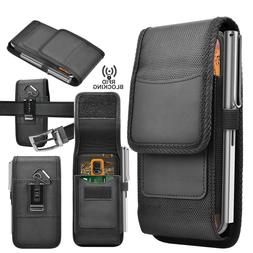 Cell Phone Holster Belt Clip Pouch Rugged Card Holder Nylon
