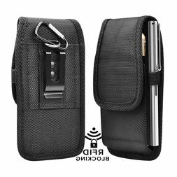 cell phone holster pouch universal nylon wallet