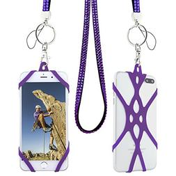 Cell Phone Lanyard Strap, Gear Beast Bling Fashion Universal