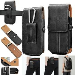 Cell Phones Vertical Leather Carrying Pouch Case Cover Holst