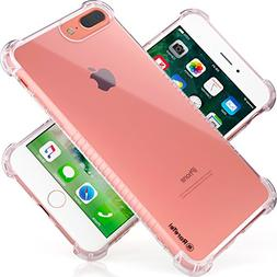 RareTel Clear Transparent Case - Compatible with iPhone 7 Pl