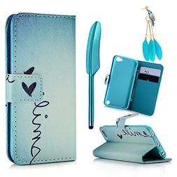 MOLLYCOOCLE Compatible for iPod Touch 5 Case, Touch 6 Case,