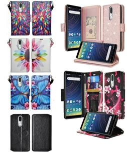 Coolpad Legacy Design Wallet Credit Card ID Slot With Stand