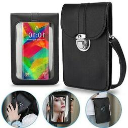 Crossbody Touch Screen Phone Wallet Purse Shoulder Small Bag