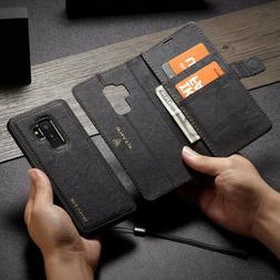 Detachable Magnetic Leather Wallet Case Cover For Samsung Ga