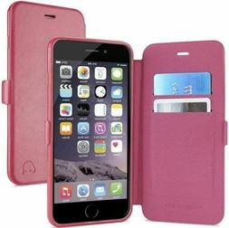 Gear Beast Dual Folio Wallet Case for iPhone 6 Plus & 6s Plu