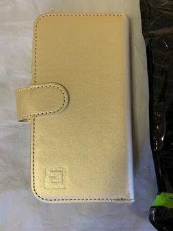 Gear Beast Dual Folio Wallet Case for iPhone 7 & 8 - Gold