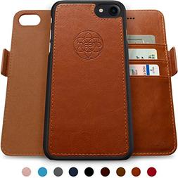 Dreem Fibonacci 2-in-1 Wallet-Case for iPhone 7 & 8, Magneti