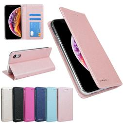 Flip Case Wallet Magnetic Leather Cover For iPhone XS Max XR