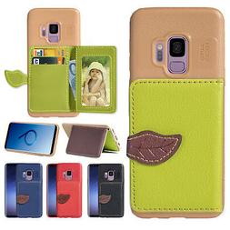 Flip Leather Wallet Stand Card Case Cover For Samsung Galaxy