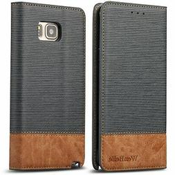 Galaxy Note 5 Wallet case,WenBelle  Wallet-Style Case, Stand