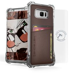 For Galaxy S8 Plus S8+ Case | Ghostek EXEC Leather Card Hold