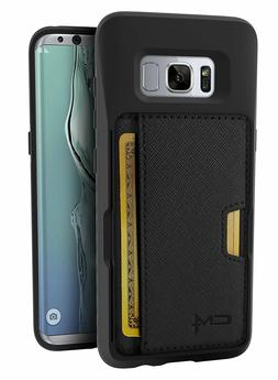 Smartish Galaxy S8/S8+ Wallet Case, Q Card Case Slim Kicksta