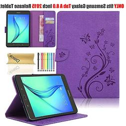 Galaxy Tab A 8.0 2015 Model Case with Stylus Pen, SM-T350 Ca