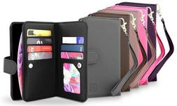 Gear Beast Dual Folio Wallet Cases Cover For Apple iPhone 5s