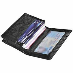 Outrip Genuine Leather Business Card Holder Name Card Case C