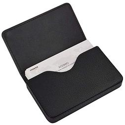 MaxGear Genuine Leather Business Card Holder Case for Men or