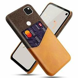 Google Pixel 4A Wallet Cell Phone Basic Case Cloth Pattern S