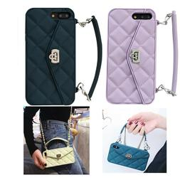 Handbag Crossbody Chain Wallet Strap Card Case Cover For iPh