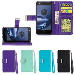 IZENGATE ID Cell Phone Folio Wallet Case Flip Cover PU Leath